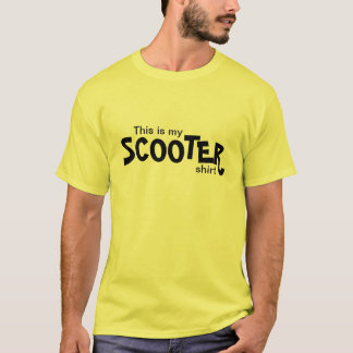 Scooter or Motorcycle Safety T-Shirt