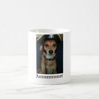Scooter Pirate Dog! Coffee Mug