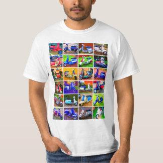Scooter Pop Art Tee Shirt