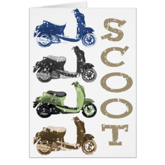 Scooter Quads Card