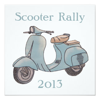 Scooter Rally invitation