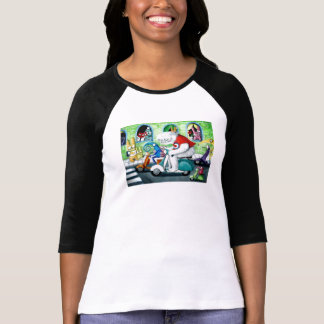 Scooter Rally - Yeti and Monsters Shirt