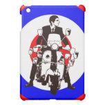 Scooter Rider on Mod Target iPad Mini Cases