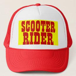 SCOOTER RIDER Trucker Cap