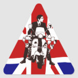 Scooter Rider UJ 2 mod triangle stickers