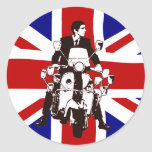Scooter Rider UJ 2 Sticker