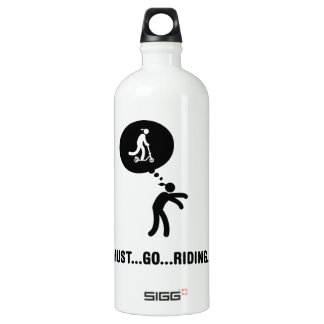 Scooter Rider Water Bottle