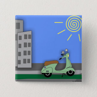Scooter-scape Badge Button