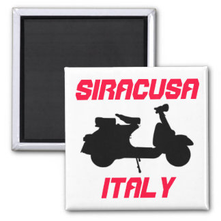 Scooter, Siracusa, Italy Magnet