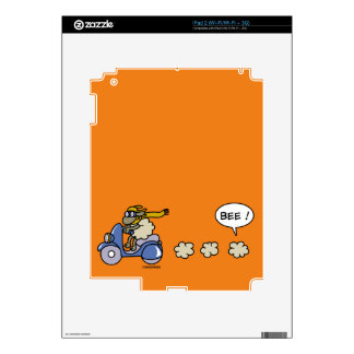 Scooter Skin For iPad 2