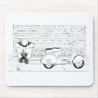 Scooter Skin Mouse Pad