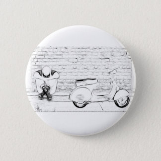 Scooter Skin Pinback Button