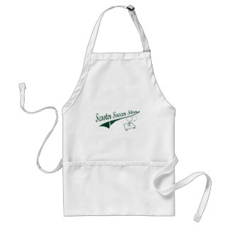 Scooter Soccer Star Adult Apron