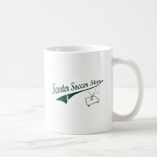 Scooter Soccer Star Classic White Coffee Mug