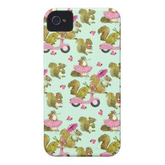 Scooter Squirrels 4S Phone Case iPhone 4 Case-Mate Case