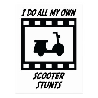Scooter Stunts Postcards