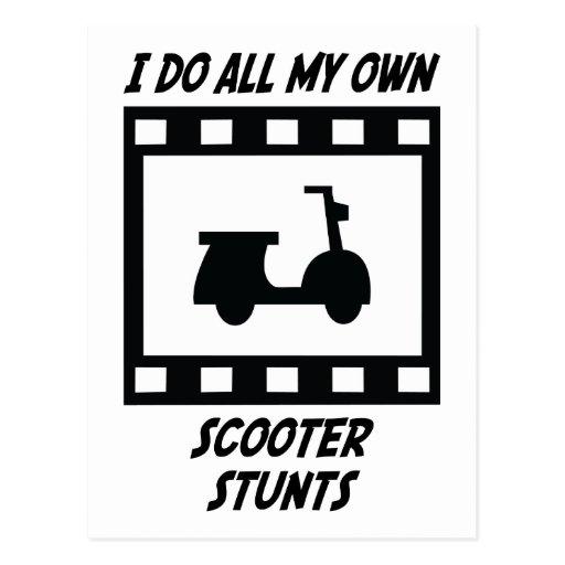 Scooter Stunts Postcards