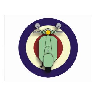 Scooter Target Postcard