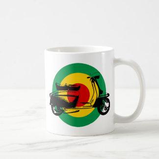 Scooter Target Rasta Coffee Mug