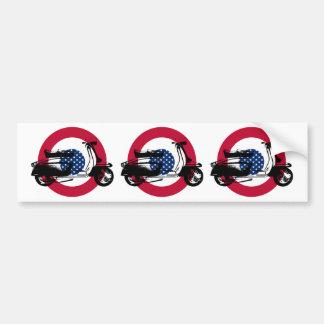 Scooter Target USA Bumper Sticker
