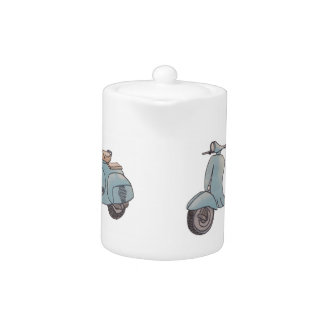 Scooter Teapot