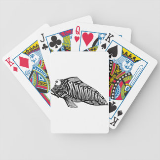Scooter The Fish Bicycle Playing Cards