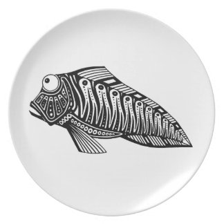 Scooter The Fish Dinner Plate