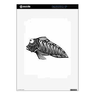 Scooter The Fish iPad 2 Decals