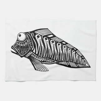 Scooter The Fish Kitchen Towel
