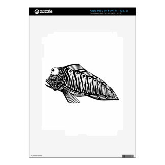 Scooter The Fish Skins For iPad 3