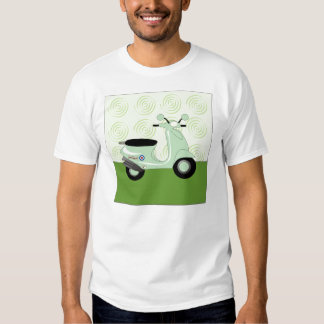 Scooter Trio Green T-Shirt