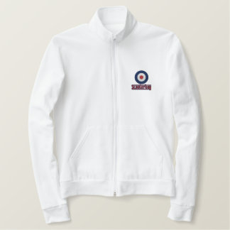 Scooterboy mod target Embroidered jogger jacket