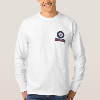 Scooterboy mod target Embroidered long sleeve Embroidered Long Sleeve T-Shirt