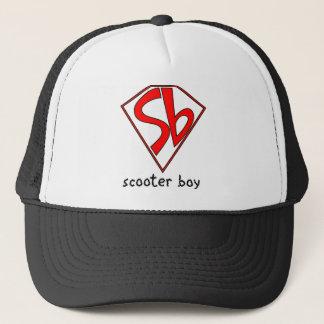 scooterboy trucker hat