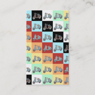 Bookmark business cards zazzle scooters bookmark business cards colourmoves