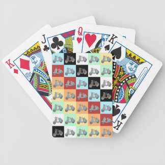 Scooters Playing Cards