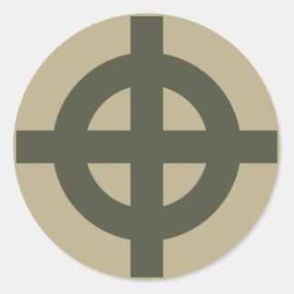 Scope Cap Sticker, Celtic Cross, Style 1