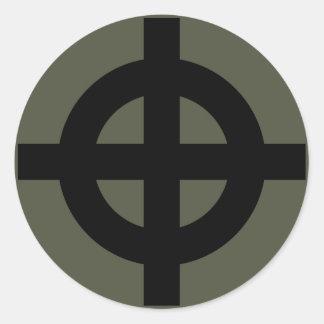 Scope Cap Sticker, Celtic Cross, Style 2