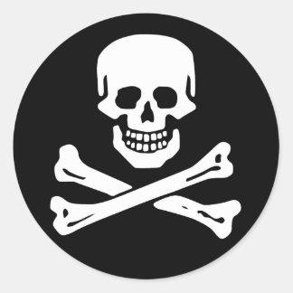 Scope Cap Sticker, Jolly Roger - Style 6