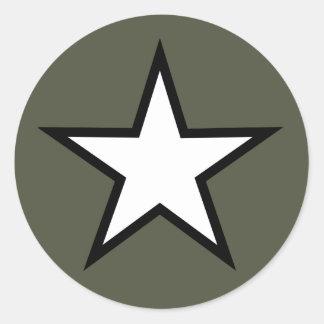 Scope Cap Sticker, Star