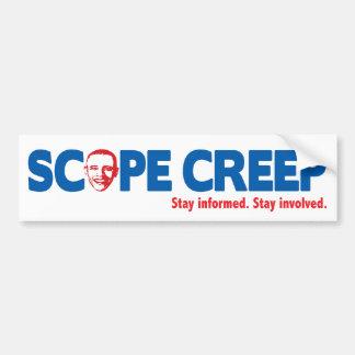 Scope Creep for Obama Car Bumper Sticker