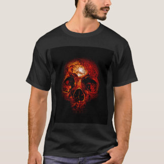 SCORCHED SKULL T-Shirt