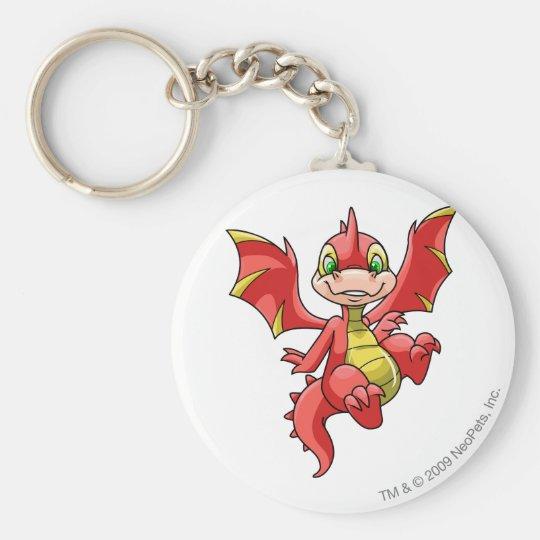 Scorchio Red Keychain