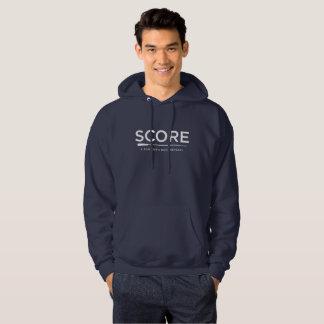 SCORE Blank Page Sheet Music Hooded Sweatshirt