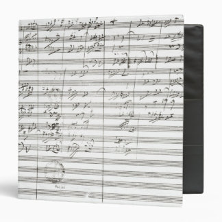 Score for the 3rd Movement of the 5th Symphony 3 Ring Binder