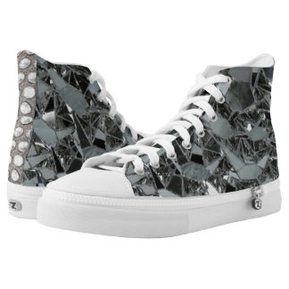 SCORE High Top Shoes Step out of the box in a pair Printed Shoes