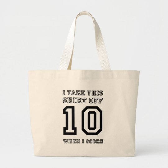 Score Large Tote Bag