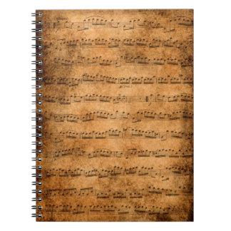 Score notebook
