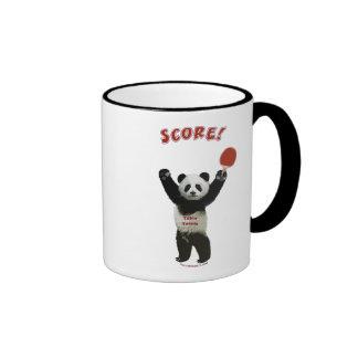 Score Panda Ping Pong Coffee Mugs