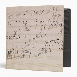 Score sheet of 'Moonlight Sonata' Binder